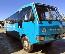 Photo: Fraser Island bus