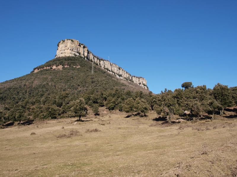Talaia del Far des del Collet de Sant Martí