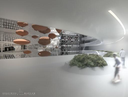 Futuristic island