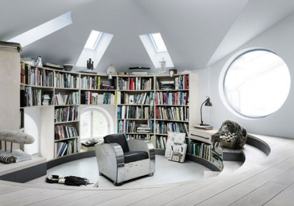 Unusual Loft of the Swedish Artist