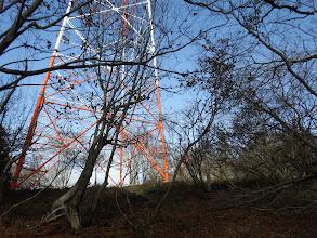 向山の鉄塔に合流