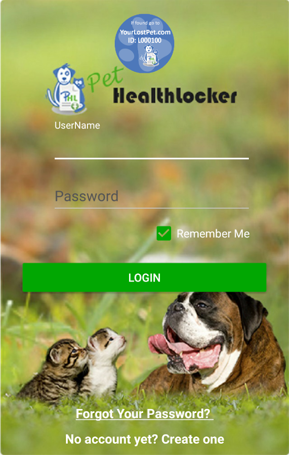 PetHealthlocker- screenshot