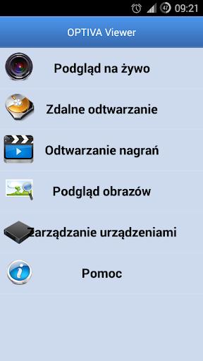 OPTIVA Mobile Viewer