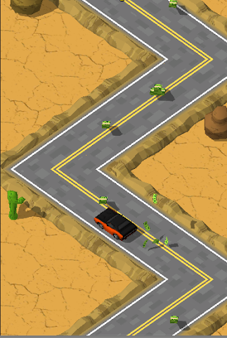android Most Wanted ZigZag Runner Screenshot 2