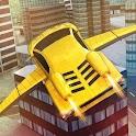Flying Racing Car Simulator icon