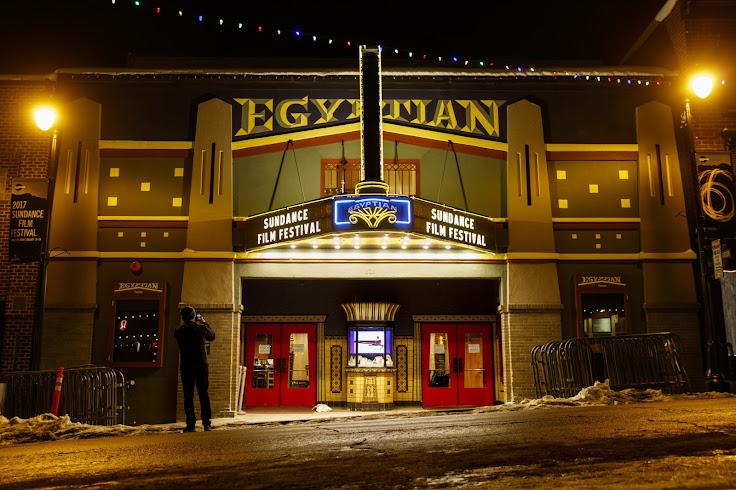 The Egyptian during a Sundance screening. Photo: Jay Clendenin   LA Times.