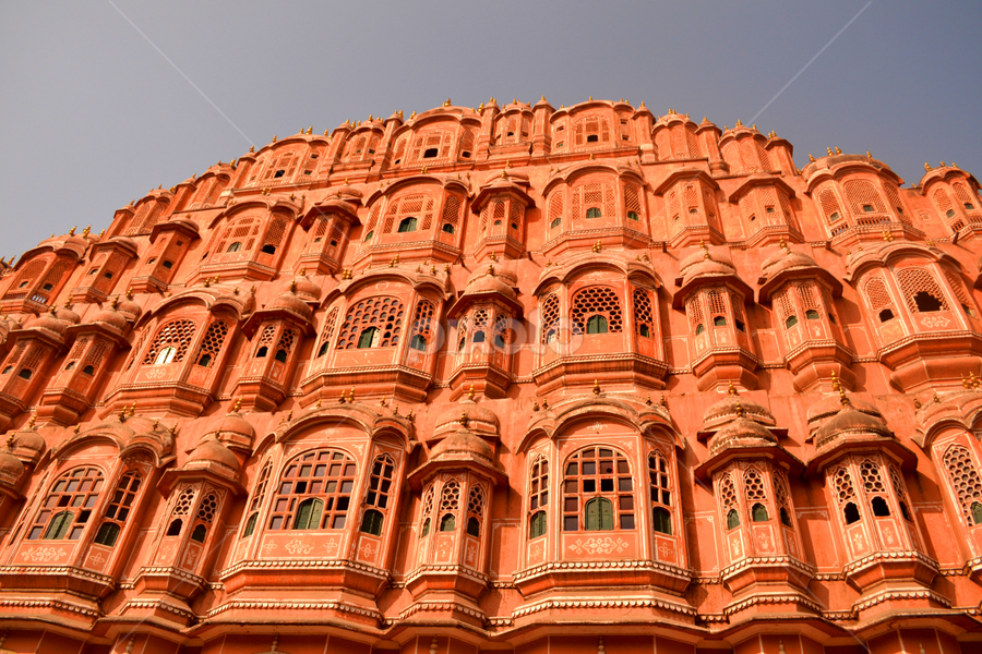 A palace in India by Bandana Nayak - Buildings & Architecture Public & Historical ( history, jaipur, india, monument, architecture, palace )