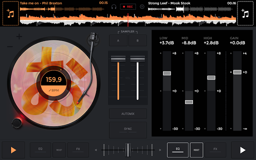edjing Mix: DJ music mixer 6.5.2 screenshots 15