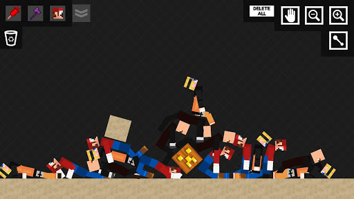 Stick Ragdoll Playground 2: Human Craft apktreat screenshots 2