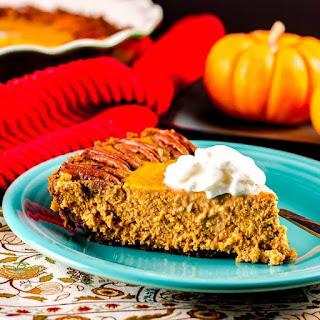 Pumpkin Pie with a Gingersnap Crust Recipe