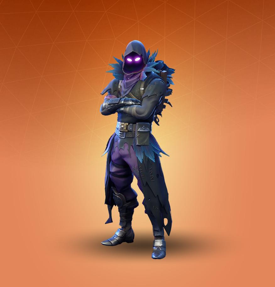 Raven Skin