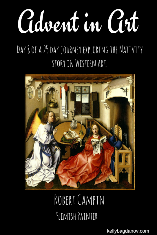 article on the Annunciation by Campin.