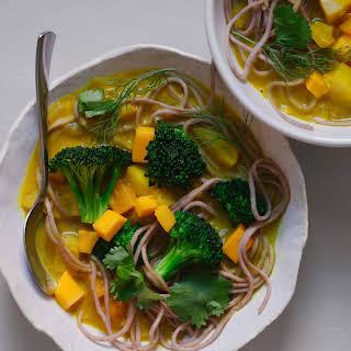 Soba Noodle Mango Curry.