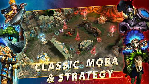 Paragon Kingdom: Arena 1.0.7 APK MOD screenshots 2
