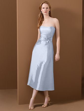 strapless bridesmaid dresses fitted bodice