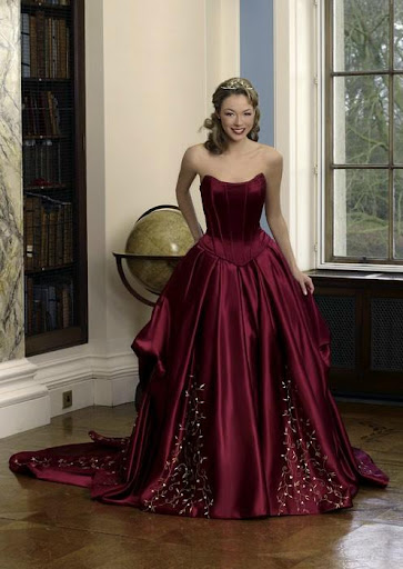 Red Wedding Gown Ideas