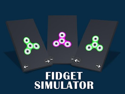 Fidget Spinner Pro App screenshot