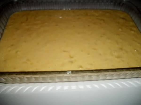 Preheat oven to 350 degree F.Mix all of the cake ingredients together in a...