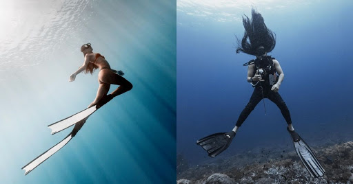 The subjects this M'sian photographs underwater aren't marine life—they're influencers