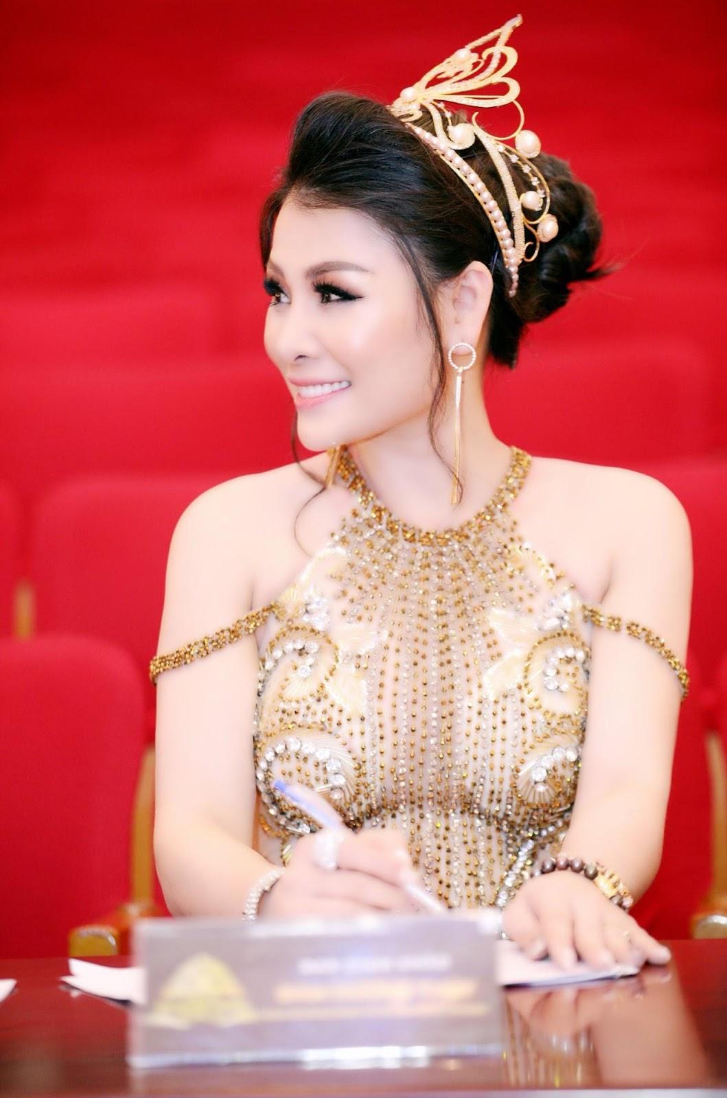 Hoa hậu doanh nhân Đàm Hương Thủy nổi bật khi ngồi ghế giám khảo Hoa khôi Đại sứ môi trường Hải Phòng năm 2019  - Ảnh 6