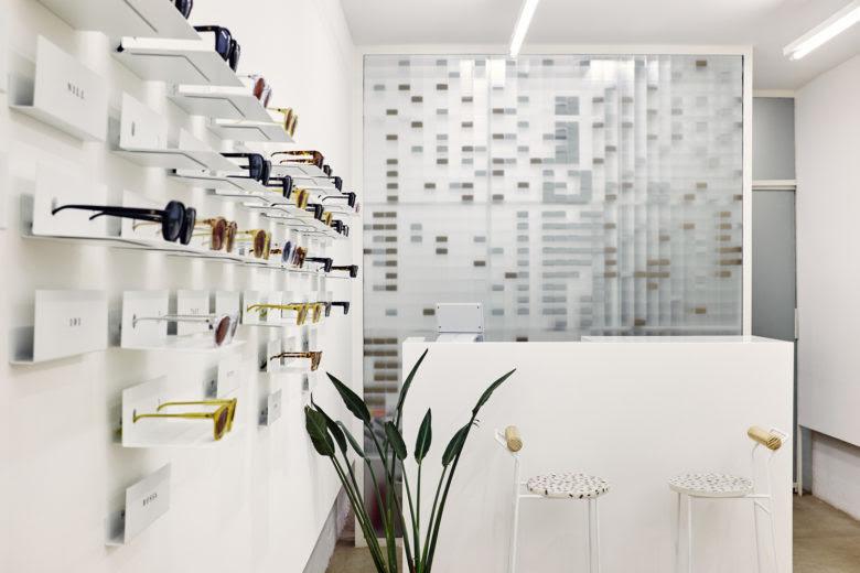 Thiết kế cửa hàng kính mắt - Thiết kế shop thời trang kính mắt 6