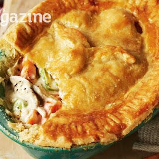 Old-fashioned Chicken Pie.