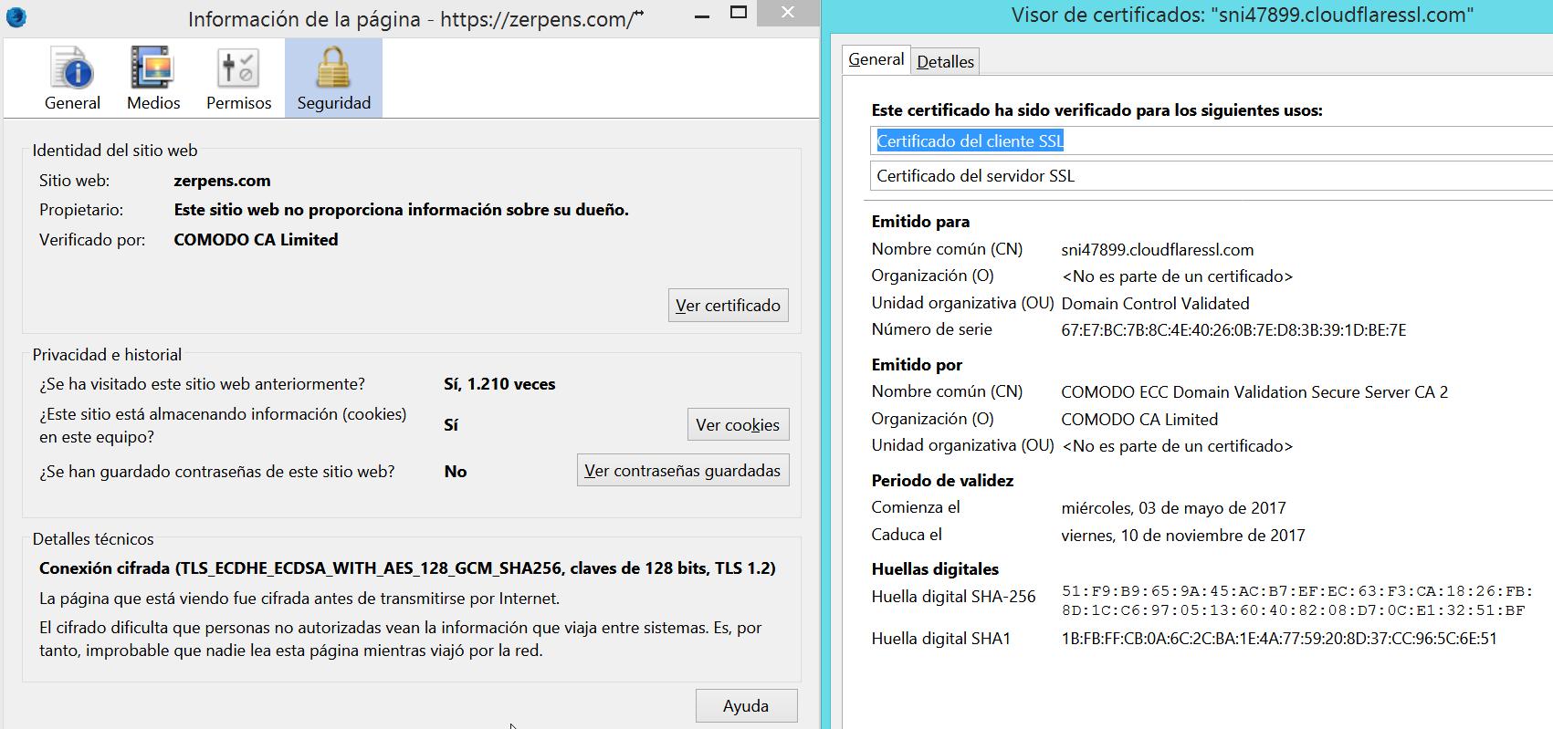 SSL/HTTPS gratis en tu web de por vida 10