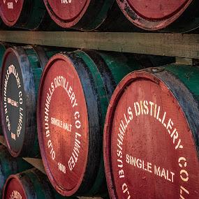 Single Malt by George Nichols - Artistic Objects Still Life ( whiskey, irish, barrel,  )