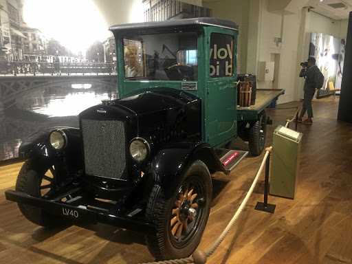 The LV40 bakkie was built in the 1920s. Picture: LERATO MATEBESE
