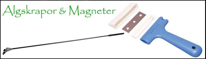 Algskrapor & Magneter