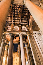 Photo: The entry way to the Pantheon, Rome, Italy