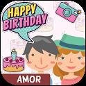 Feliz Cumpleaños Amor - Imagenes y Frases gratis icon
