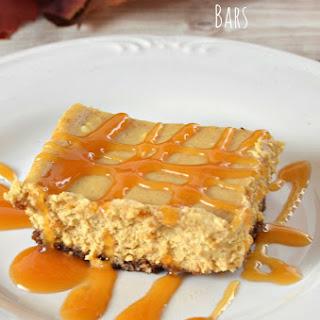 Caramel Pumpkin Cheesecake Bars