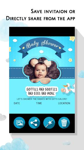 Fabricante De Invitación De Baby Shower Aplicaciones En