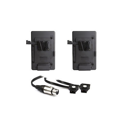 V-Mount Battery Plate DUAL Kit w/ Y-cable for Hornet