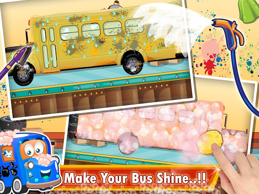 Kids School Bus Spa Simulator 1.0 screenshots 8
