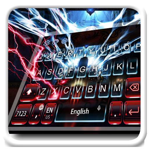 Red Demon Keyboard Theme