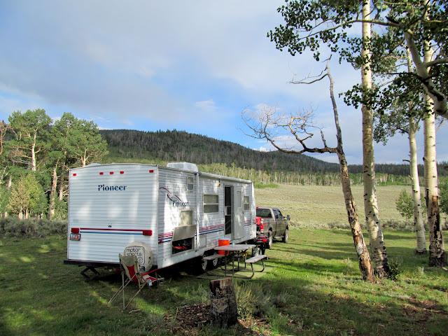 Camp near UM Creek