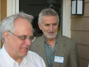 Photo: Professors John Dickhaut and Edi Karni