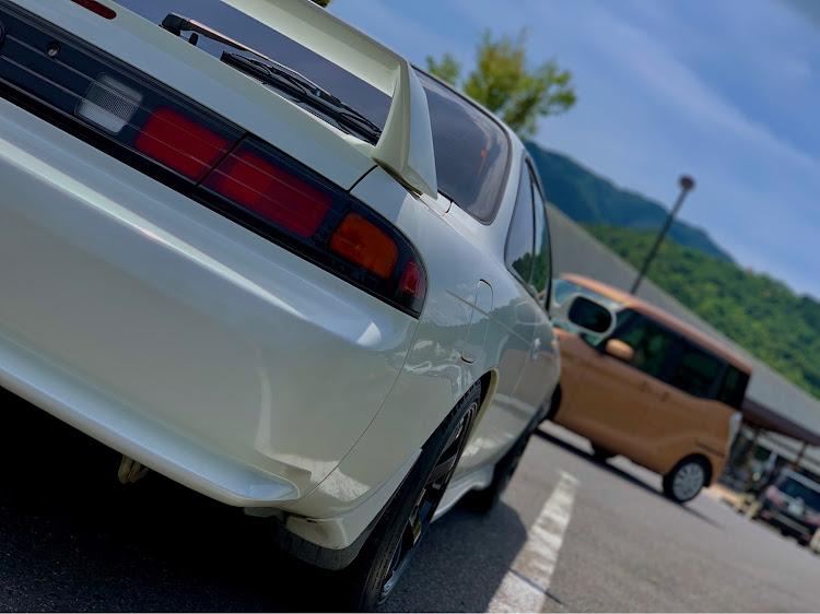 シルビア S14 後期のドライブ,愛車紹介,車写活,梅雨明け,猛暑日に関するカスタム&メンテナンスの投稿画像1枚目