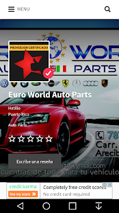 Auto Rating - Puerto Rico- screenshot thumbnail