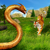 Real Anaconda Simulator 3D - Animal Hunting Games