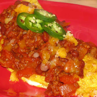 Healthy Chili Cheese Omelet