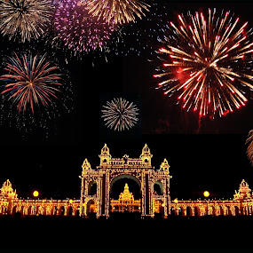 Mysore Palace- Celebrations by Purbayan Bhattacharyya - Instagram & Mobile Android