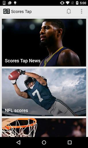 Scores Tap: Sports Score App