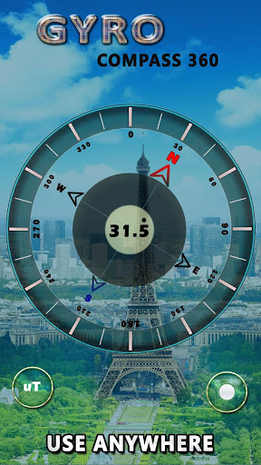 GPS Compass App for Android: True North Navigation  screenshots 1