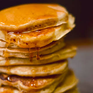 Better than Bisquick Vanilla Pancakes.