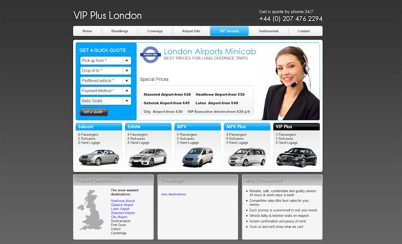 Photo: VIP Plus London www.vippluslondon.co.uk