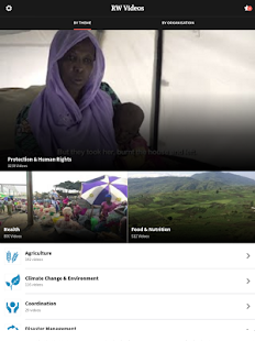 ReliefWeb Videos- screenshot thumbnail