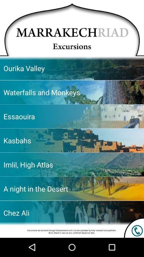 Marrakech Riad Travel Guide +- screenshot